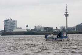wir nähern uns Bremerhaven