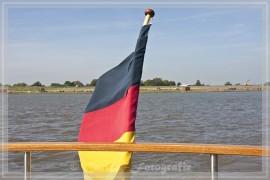 zum Glück wird die Elbe ruhiger