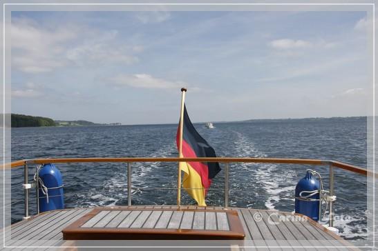 Fahrt durch Sund und Fjord