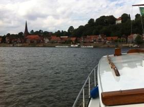 Lauenburg in Sicht